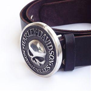 Пряжка серебряная Harley-Davidson