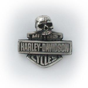 Байкерская атрибутика-Подвеска серебряная harley-davidson