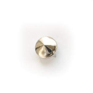 Байкерская атрибутика-Фурнитура конус стальной для ремней обуви, одежды