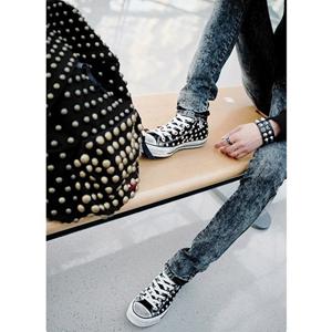 Байкерская атрибутика-Фурнитура полусфера стальная для ремней обуви, одежды.