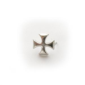 Байкерская атрибутика-Фурнитура Мальтийский крест стальной для ремней обуви, одежды