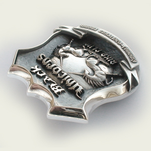 Байкерская атрибутика-байк-клуба Black unicorns Ванино-Советская гавань