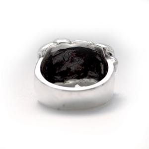 Кольцо серебряное ловец душ, чернение.