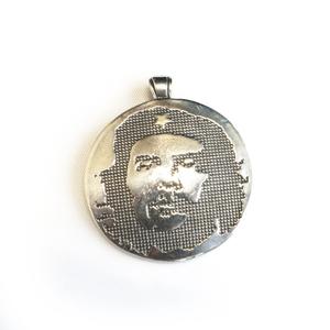 """Подвеска серебряная """"Че Гевара"""", чернение."""