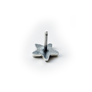 Серьга серебряная